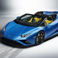 Lamborghini Huracan EVO Spyder RWD, 610 hp directos a las ruedas traseras para que te despeines con gusto