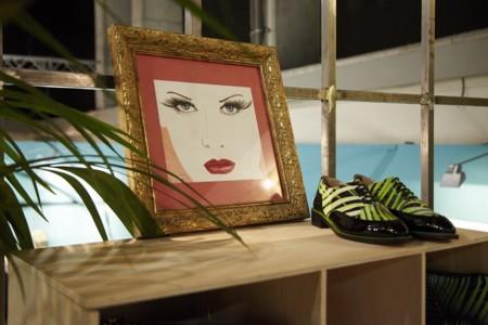 Maya Hansen En Mercedes Benz Fashion Club 2