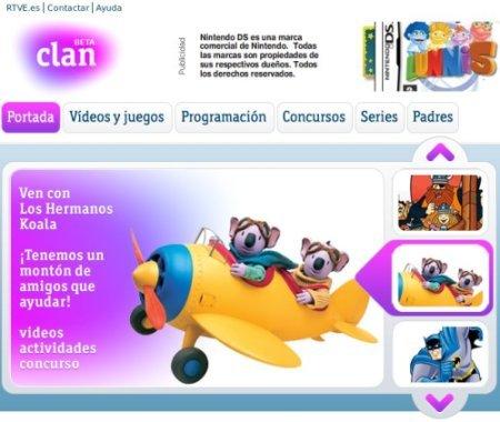 Clan, la nueva web de los contenidos infantiles de RTVE