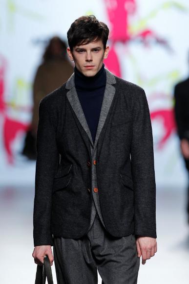 Adolfo Dominguez Otoño-Invierno 2011/2012 en la Cibeles Fashion Week