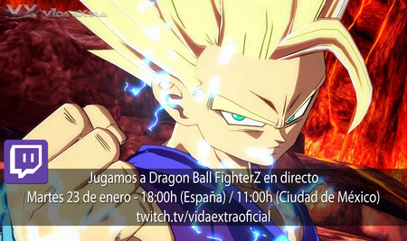 Streaming del modo historia de Dragon Ball FighterZ a las 18:00h (las 11:00h en Ciudad de México) [Finalizado]