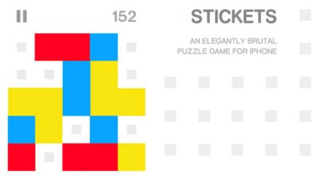 Stickets, otro juego para iOS tipo puzzle que hará las delicias de muchos jugadores