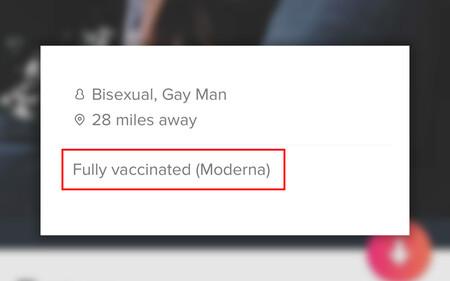 """""""Bisexual, a 45km y completamente vacunado (Moderna)"""": estar inmunizado ya es un reclamo en Tinder"""