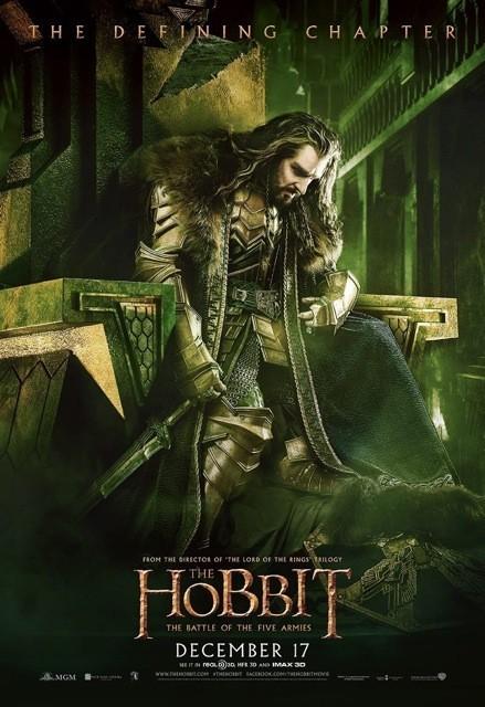 Foto de 'El hobbit: La batalla de los cinco ejércitos', carteles (14/29)