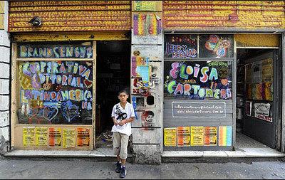 Buenos Aires: convirtiendo cartón en arte