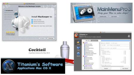 Aplicaciones de mantenimiento para OS X, ¿son realmente necesarias?
