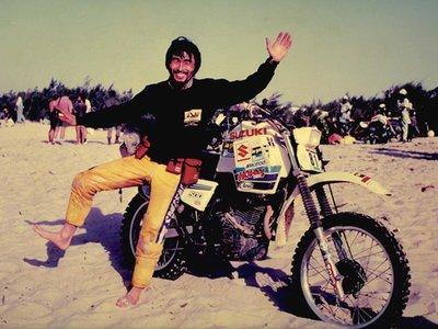 Los ruteros olvidados: Shinji Kazama, el japonés que ganó el Rally de los Faraones y subió a 6.005 metros en moto