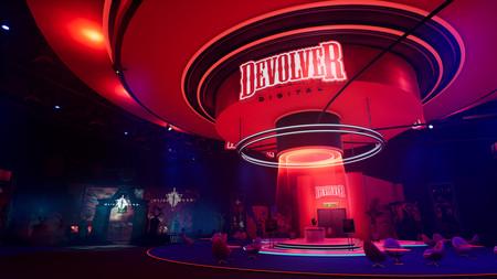Devolverland Expo es un juego promocional que satiriza el E3 y la industria del hype, y ya se puede descargar gratis