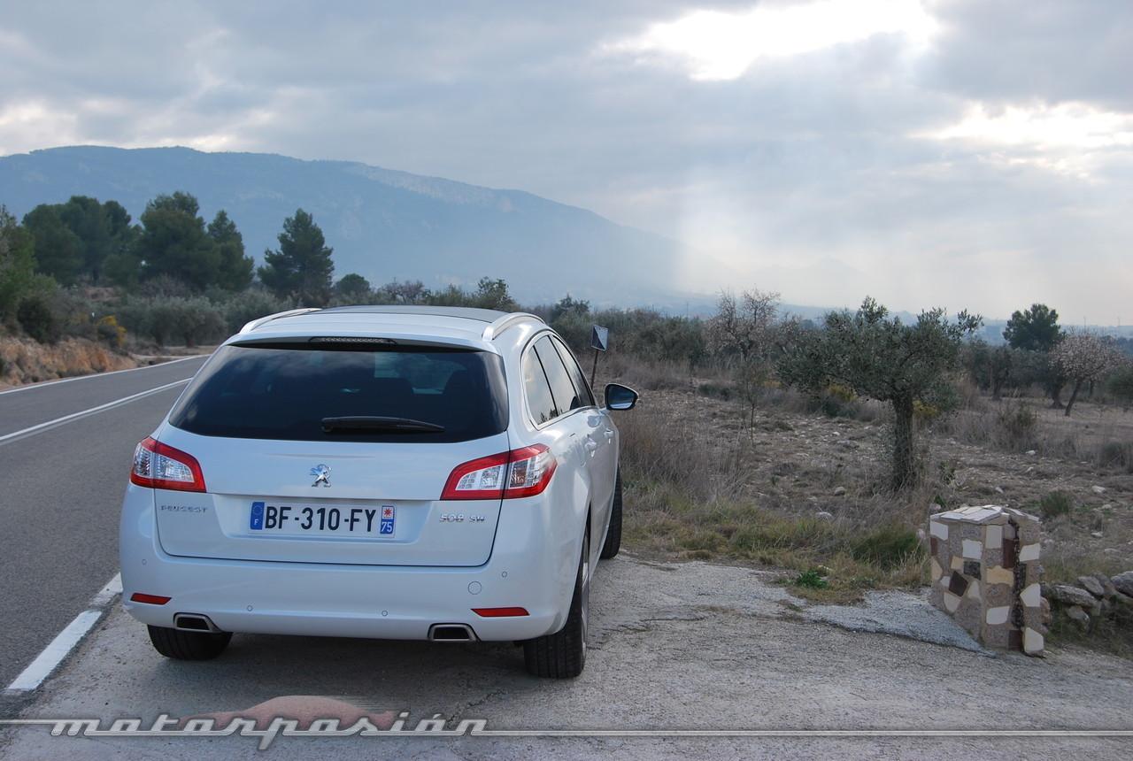 Foto de Peugeot 508 y 508 SW (presentación) (9/118)