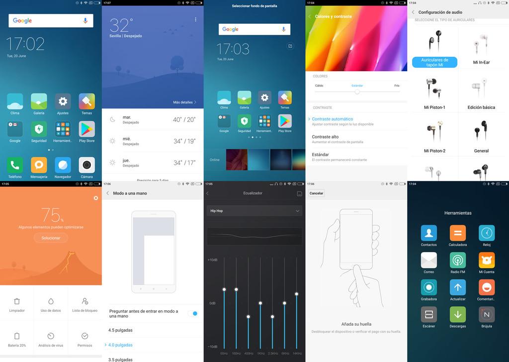 MIUI 8.1, el sistema del Xiaomi™ Mi 5C