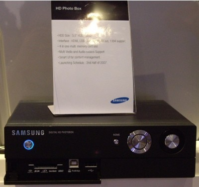 Samsung HD Photobox