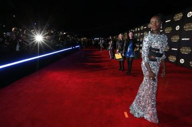 ¡Hollywood a sus pies!, Lupita Nyong'o deja claro que continúa siendo la reina de la alfombra roja