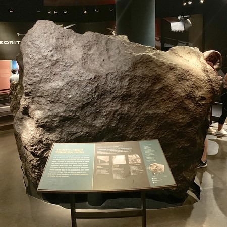 Ahnighito Amnh 34 Tons Meteorite