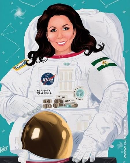 @soyivang viste a las folclóricas españolas de astronautas y nosotros las utilizamos para repasar los hitos espaciales