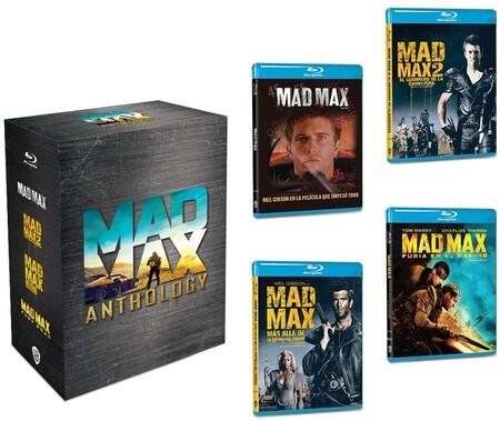 Colección de películas de Mad Max en Blu-ray