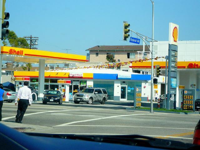 Estacion Shell hidrógeno