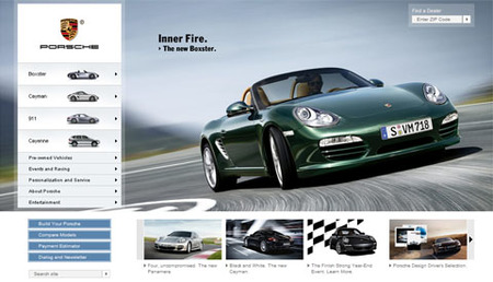 Web Porsche USA