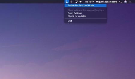 Undisturbed ayuda a que el modo No Molestar del Mac sea más eficaz: App de la Semana