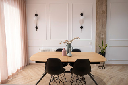 Diseno Vivienda Reforma Integral Gran Via Valencia Salon Comedor Peanut Design Studio Enue Construccion 4