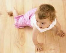 Estimular el gateo en bebés