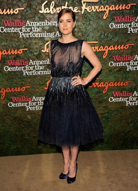 Amy Adams con un vesitdo de Elie Saab Alta Costura en la Gala inaugural del Centro de Artes escénicas Willis Anneberg