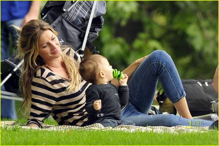 Gisele Bündchen promueve el parto natural a nivel mundial