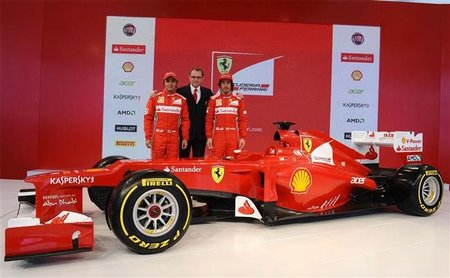 "Fernando Alonso: ""Me gustan las ideas innovadoras del Ferrari F2012"""