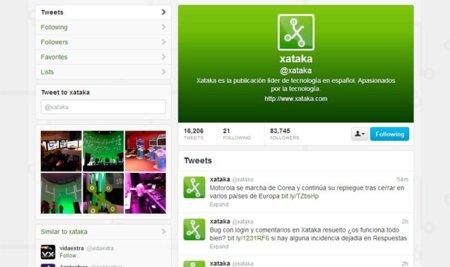 Twitter activará su diseño con imagen de cabecera a todos los usuarios a partir del 12 de diciembre