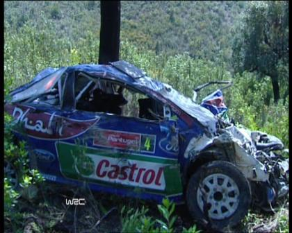 Jari-Matti Latvala y su accidente de Portugal