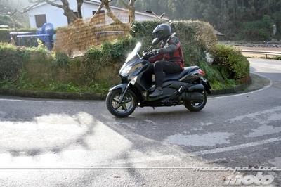 Yamaha X-MAX 125, prueba (conducción en autopista y pasajero)