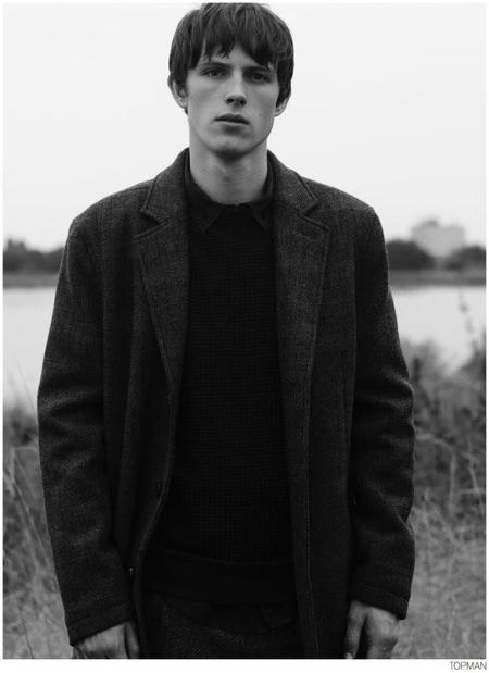 Topman Coat Fall 2014 Campaign 002