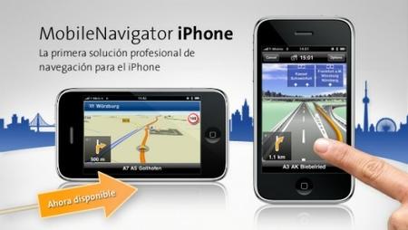 El iPhone como navegador GPS para profesionales