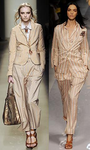trajes rayas