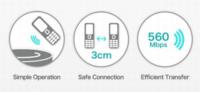 TransferJet, transmisión sin cables, sigue adelante