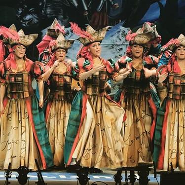 Una comparsa del Carnaval de Cádiz defiende a la víctima de 'la manada': «Celebro cada semana que sigo viva»