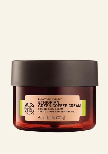 Spa Of The World Ethiopian Green Coffee Firming Body Cream 350ml 1 Inrsdps453