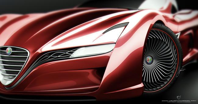 Alfa Romeo C12 GTS Concept