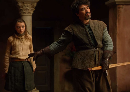 Syrio Forel Defends Arya Stark From Lannister Men