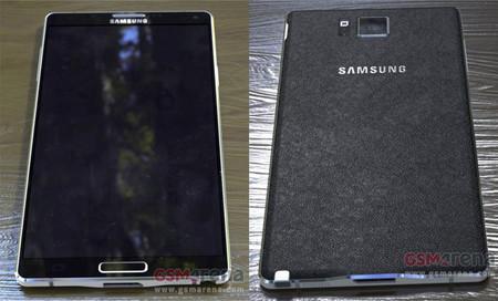 Supuestas fotografías del Samsung Galaxy Note 4 revelan su diseño final