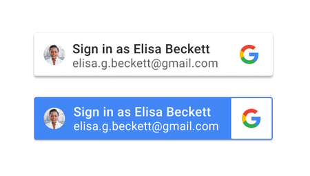 Google Identity Services Sign In With Button