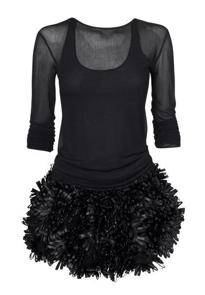 Foto de Vestidos negros Etxart &Panno Otoño-Invierno 2010/2011: el color que nunca falla (8/10)