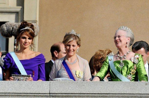 Boda de la Princesa Victoria de Suecia, ceremonia: Princesa Rania