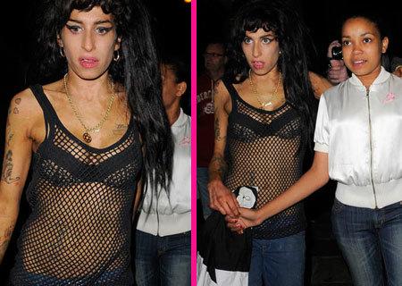 Amy Winehouse se lía a bofetadas...otra vez