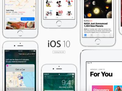 Todo lo que podrás hacer con iOS 10