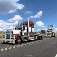 American Truck Simulator y Euro Truck Simulator 2 ya permiten el uso de hasta 70 mods en los viajes online