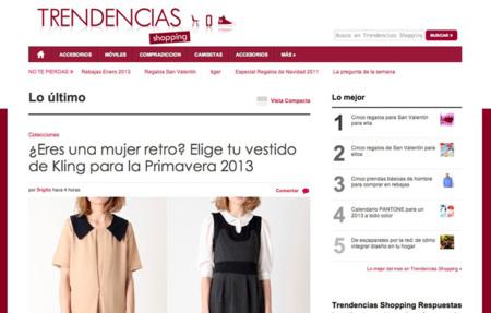 Trendencias Shopping, la nueva web de las compras más deseadas