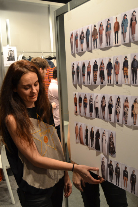 Backstage Ana Locking Mercedes-Benz Fashion Week Madrid Otoño-Invierno 2014/2015
