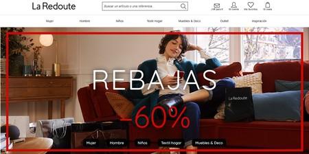 La Redoute adelanta sus rebajas y nos ofrece descuentos de hasta el 60%