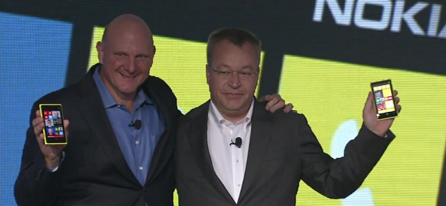 Stephen Elop y Steve Ballmer