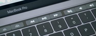 Cómo acceder a los accesos directos de funciones en la Touch Bar de un MacBook Pro con la tecla Fn